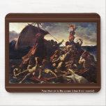 The Raft Of The Medusa, By Géricault Jean Louis Th Mousepad