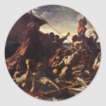 The Raft Of The Medusa, By Géricault Jean Louis Th Stickers
