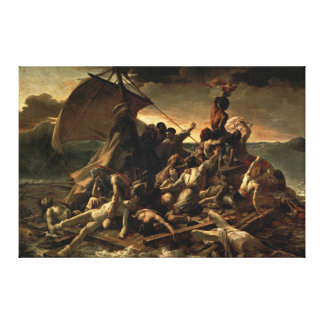 The Raft of the Medusa (J.L.T.GÉRICAULT) Canvas Print