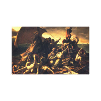 The Raft of the Medusa Stretched Canvas Print