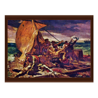 The Raft Of The Medusa (Study) By Géricault Jean L Postcard