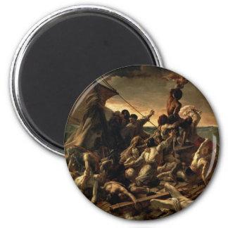 The Raft of the Medusa - Théodore Géricault 6 Cm Round Magnet