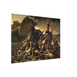 The Raft of the Medusa - Théodore Géricault Gallery Wrap Canvas