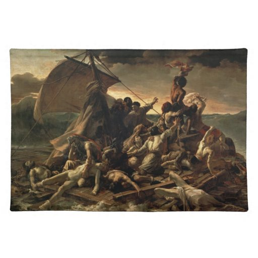 The Raft of the Medusa - Théodore Géricault Placemat