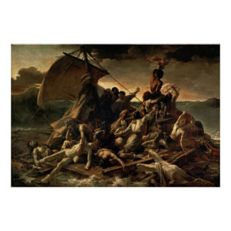 The Raft of the Medusa - Théodore Géricault Poster