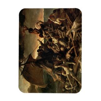 The Raft of the Medusa - Théodore Géricault Flexible Magnet