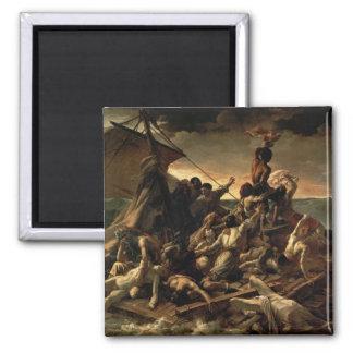 The Raft of the Medusa - Théodore Géricault Square Magnet