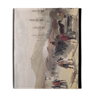 The Railway at Balaklava, plate from 'The Seat of iPad Case