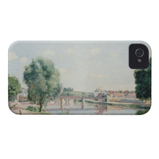 The Railway Bridge, Pontoise iPhone 4 Cover