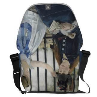 The Railway by Edouard Manet Commuter Bags