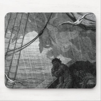 The rain begins to fall mouse mat