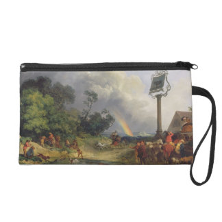 The Rainbow, 1784 (oil on canvas) Wristlet Purses