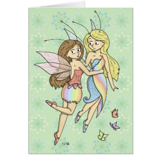 The Rainbow Fairies Card