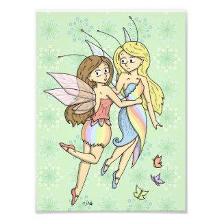 The Rainbow Fairies Photo Print