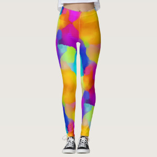 The Rainbow Star Leggings
