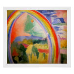 The Rainbow - Vintage Classic - by Robert Delaunay Poster