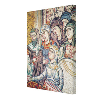 The Raising of Jairus's Daughter Canvas Print