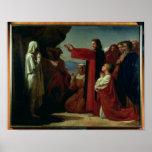 The Raising of Lazarus, 1857 Poster