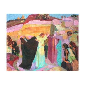 The Raising of Lazarus, 1919 Canvas Prints