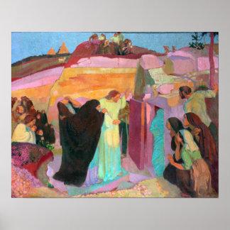 The Raising of Lazarus, 1919 Poster