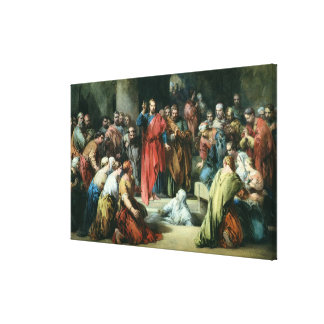 The Raising of Lazarus Gallery Wrap Canvas