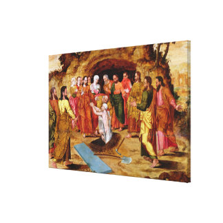 The Raising of Lazarus Canvas Print