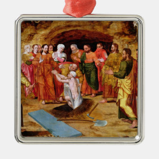 The Raising of Lazarus Christmas Ornament