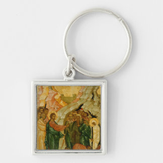 The Raising of Lazarus, Russian icon Key Ring