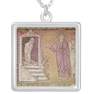 The Raising of Lazarus Silver Plated Necklace