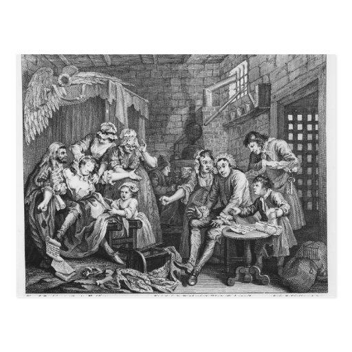 The Rake in Prison Post Cards