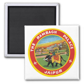 The Rambagh Palace Jaipur Square Magnet