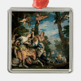 The Rape of Europa (oil on canvas) 2 Christmas Ornament