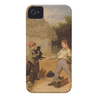The Rat Trap (oil on panel) iPhone 4 Case-Mate Cases
