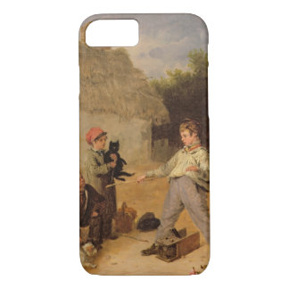 The Rat Trap (oil on panel) iPhone 8/7 Case