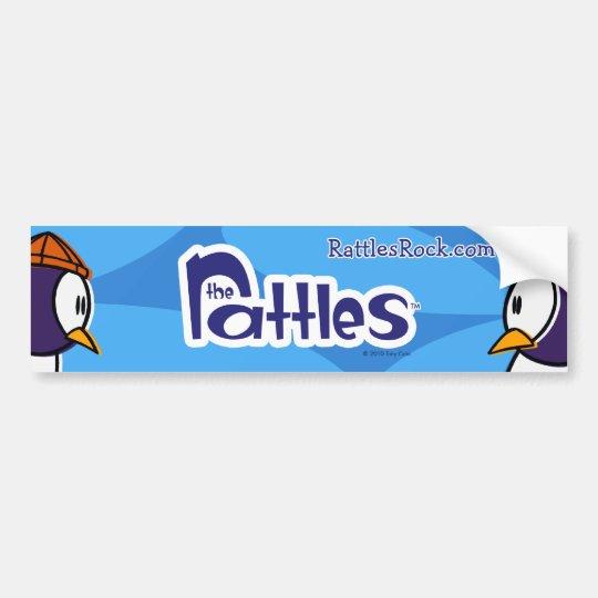 "The Rattles ""Blue Elvis"" Bumper Sticker"
