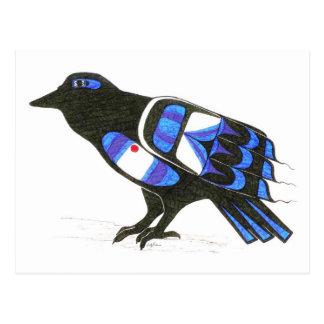 The Raven 001 Postcard