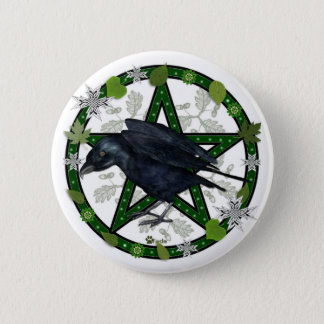 The Raven - Badge/Button 6 Cm Round Badge