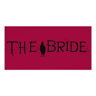 The Raven Bride Photo Greeting Card