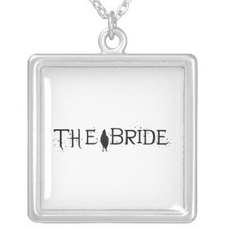 The Raven Bride Silver Plated Necklace