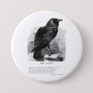 The Raven by Edgar Allen Poe 7.5 Cm Round Badge