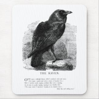The Raven by Edgar Allen Poe Mouse Mat