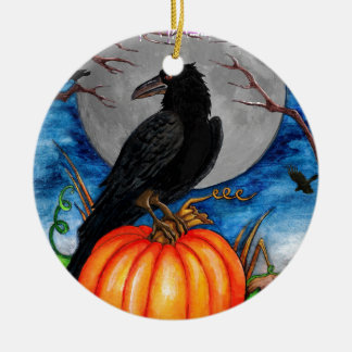 The Raven Christmas Ornament