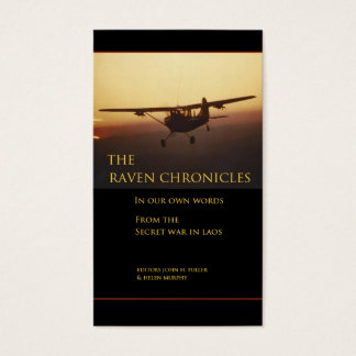The Raven Chronicles Business Card