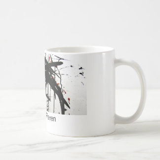 The Raven Flying Coffee Mug