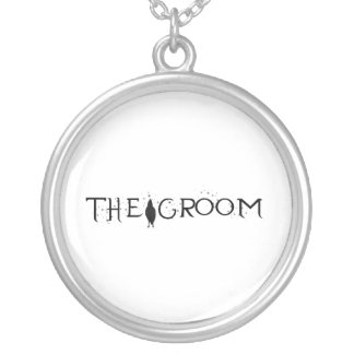 The Raven Groom Silver Plated Necklace