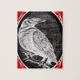 """""""The Raven"""" inspired graphic design Puzzle"""