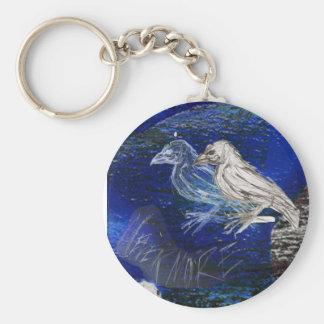 The Raven Key Ring