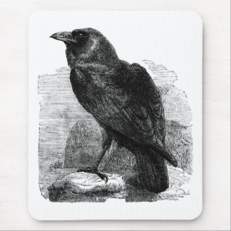 The Raven Mouse Mat