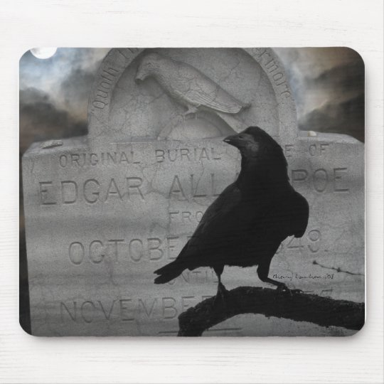 """The Raven"" mousepad"