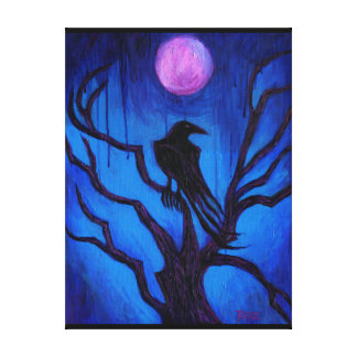 The Raven Nevermore Gallery Wrapped Canvas